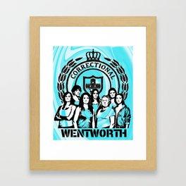 Wentworth Inmates Framed Art Print