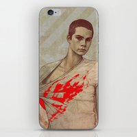 stiles iPhone & iPod Skins featuring Stiles Stilinski by Sudjino