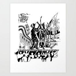All that Jazz - 01 Art Print