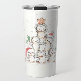Oh Penguin Tree Travel Mug