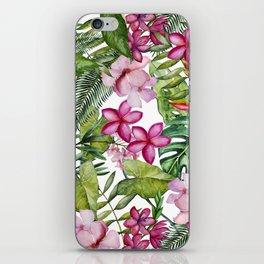 Tropical Garden 3 iPhone Skin