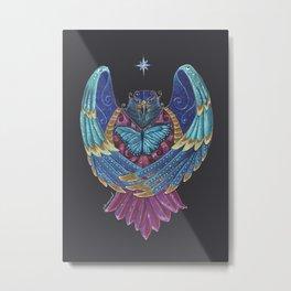Eagle Totem Metal Print