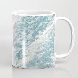 Soft Teal Blush Ocean Dream Waves #1 #water #decor #art #society6 Coffee Mug