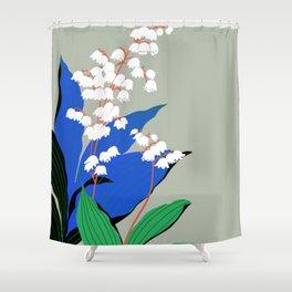 Flower Market New York Shower Curtain