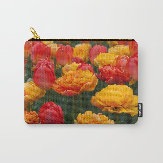 Scrumptious Tulips Carry-All Pouch