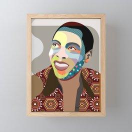 Fela Kuti Framed Mini Art Print