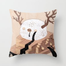 False Prophet Throw Pillow