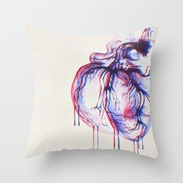 3D Heart Throw Pillow