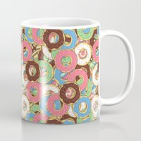 donuts Mugs featuring Donuts by Beesants