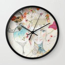 Unfold Wall Clock
