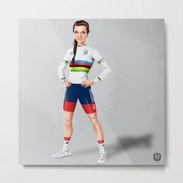Lizzie Armitstead - world champ Metal Print