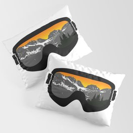 Sunset Goggles 2 | Goggle Designs | DopeyArt Pillow Sham