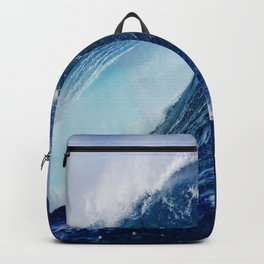 Big Blue Wave Backpack