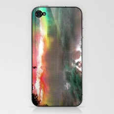 Sky Of Too Many Colors iPhone & iPod Skin