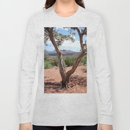 Arizona Horizon - Sedona Red Rocks Long Sleeve T-shirt
