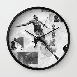 Didier Drogba Underwater Highlight Tape DVD-RW Wall Clock