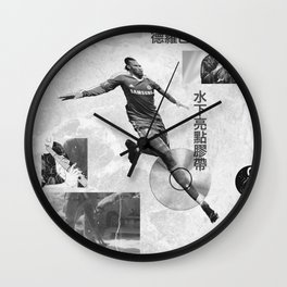 Didier Drogba Underwater Highlight Tape DVD-RW Wall Clock