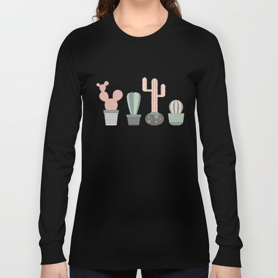 cacti colors Long Sleeve T-shirt