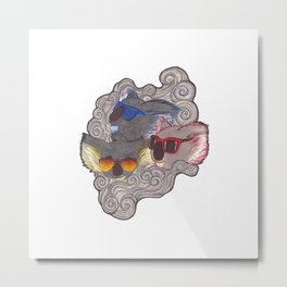 Cool Koalas Metal Print