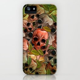 Apple Skull iPhone Case