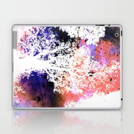 White Trees Colorful Space Laptop & iPad Skin