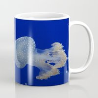 jelly fish Mugs featuring Jelly Fish by Eternal