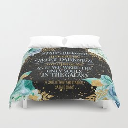 A Court of Frost and Starlight - Sarah J Maas Duvet Cover