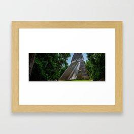 Templo V Panorama Framed Art Print
