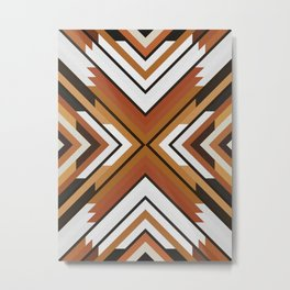 Dynamic Geometry 09 Metal Print