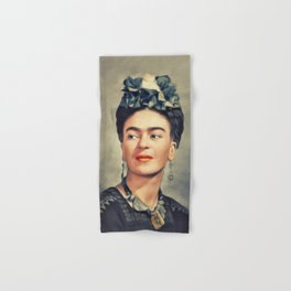 Frida Kahlo, Artist Hand & Bath Towel