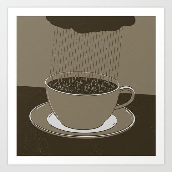 GOOD MORNING 02 Art Print