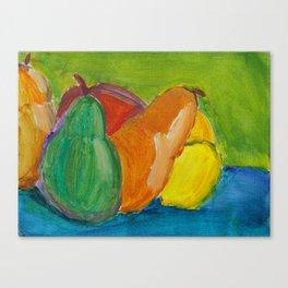 Fifth Grade Art Class Canvas Print