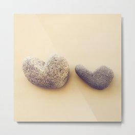 Love is Strong Metal Print