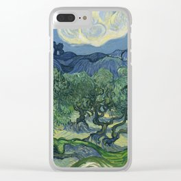 The Olive Trees Clear iPhone Case