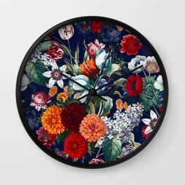Night Garden XXXV Wall Clock