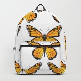 Watercolor Monarch Butterflies Backpack