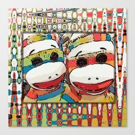 Sock Monkey 2 Canvas Print
