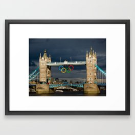 Olympic Victory Framed Art Print