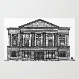 Shrewsbury Museum and Art Gallery, Black and White Rug