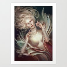Soul Made of Glass Art Print