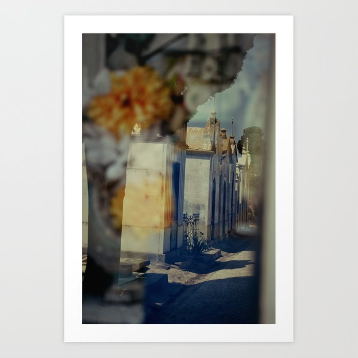 My vision won't be blinded Art Print