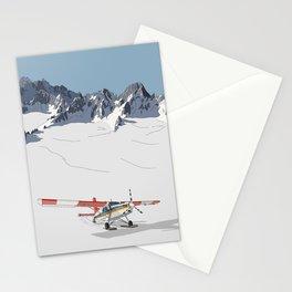 Tasman Glacier, New Zealand Stationery Cards
