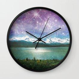Mothership Spotting Wall Clock