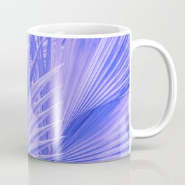Palm Leaves: Purple Hues Coffee Mug