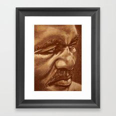 the real deal Framed Art Print