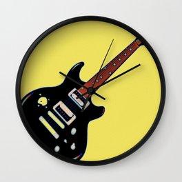 Strings of Rock Wall Clock