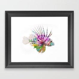 When I Dream of Lionfish Framed Art Print