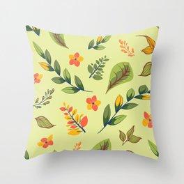 Flower Design Series 2 Throw Pillow