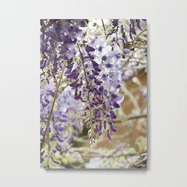 Flower Shower Metal Print