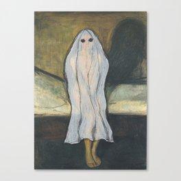 """Puberty Ghost"" / Edvard Munch Canvas Print"